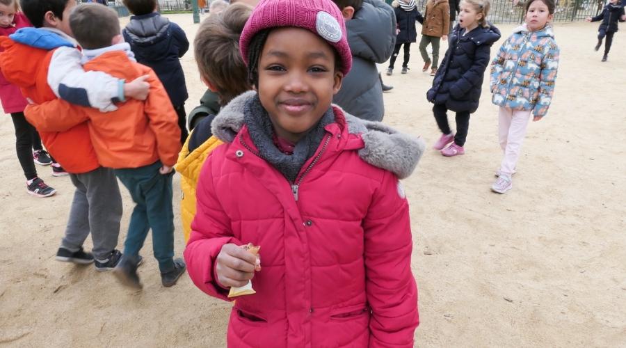 Photo d'une élève du programme Grandir Ensemble de la Fondation Jeannine Manuel