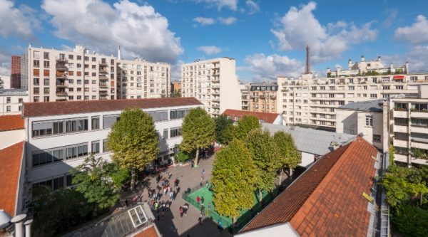 Vue d'ensemble du site Théâtre de l'école de Paris