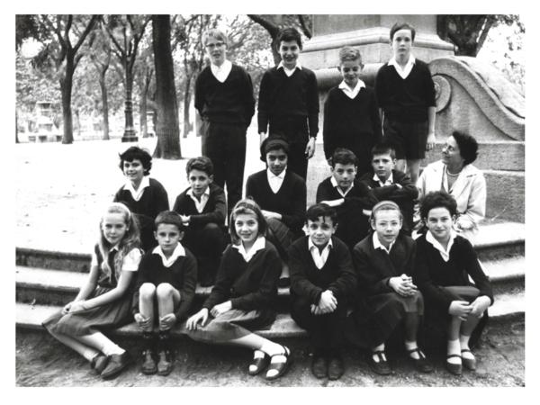 Classe de l'école Jeannine Manuel